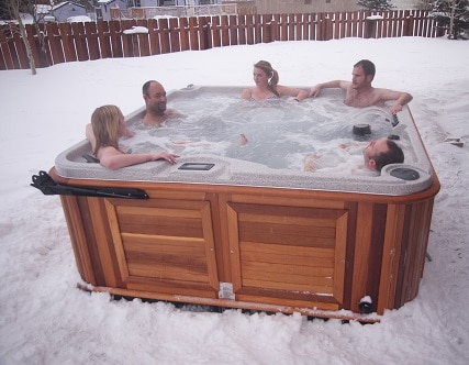 How to winterize your hot tub arctic spas Hot tubs tulsa