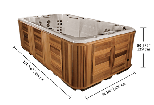 Swim spas above ground pools fiberglass all weather - In ground swimming pools for sale near me ...