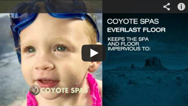 Coyote Hot Tub Everlast Floor