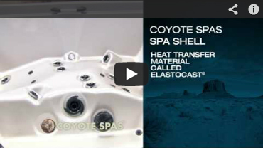 Coyote Hot Tub Shell