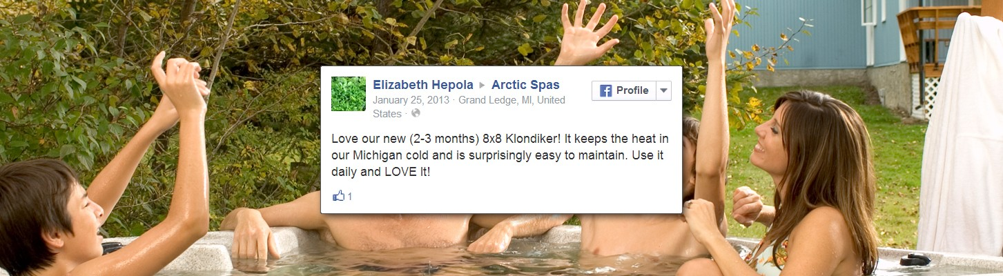 The First Arctic Spas Testimonial