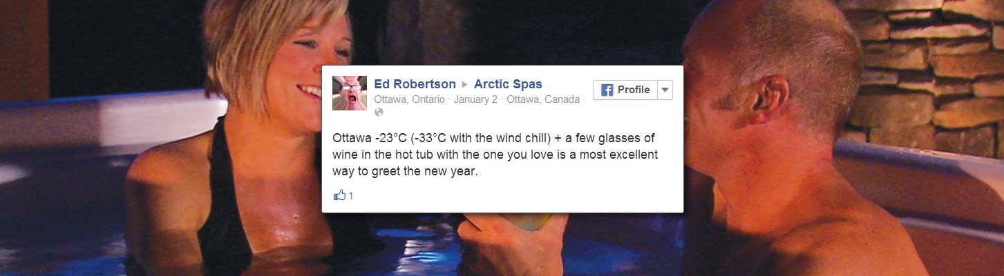 The Second Arctic Spas Testimonial