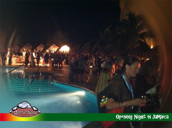 Registration Night with Arctic Spas Jamaica